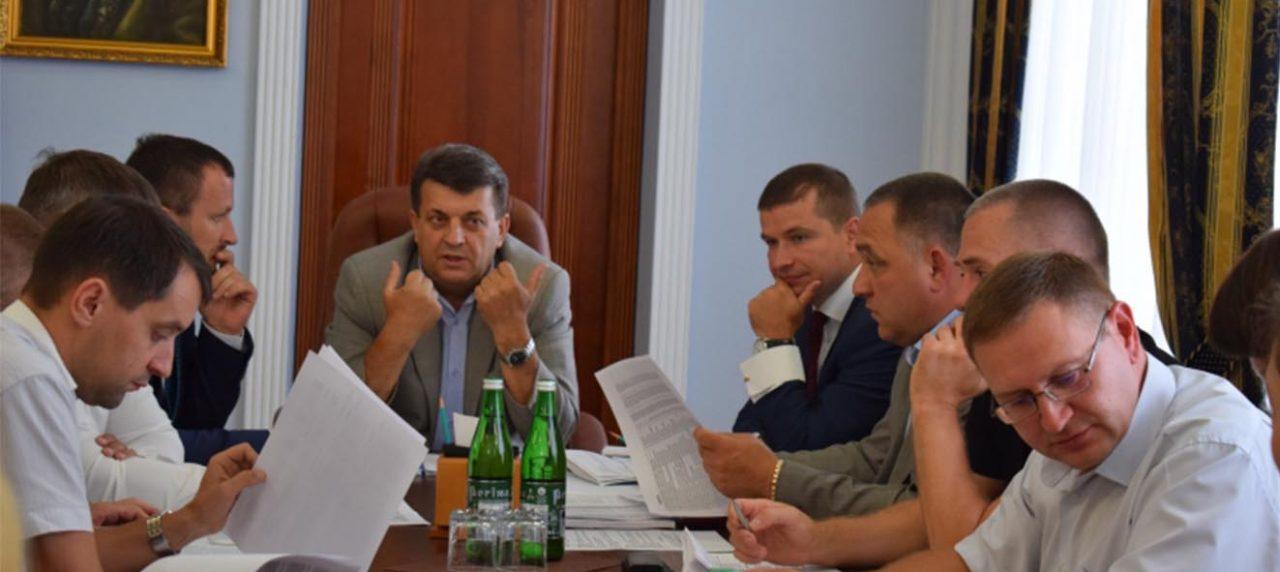 Засідання Конкурсної ради 15 Обласного конкурсу проектів розвитку територіальних громад
