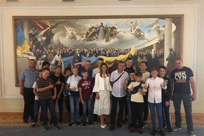 """Вапнярський ФК """"Мрія"""" у Києві"""