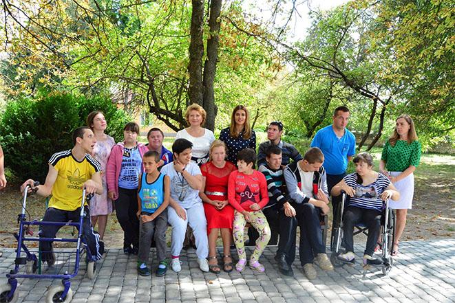 Візит до реабілітаційного центру для дітей з інвалідністю у с. Гнатків