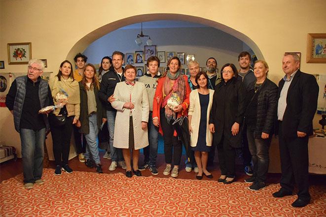 Візит делегації родини Собанських на Батьківщину - с. Ободівка