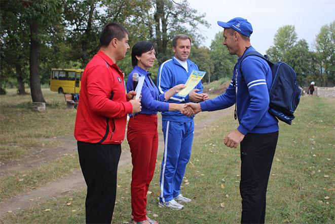 Привітання спортсменів Чернівецького району