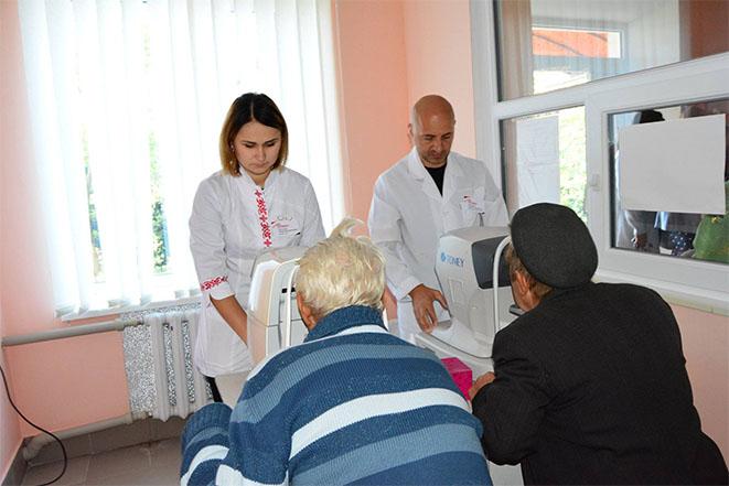 """Соціальна ініціатива """"Лікар у село"""" у с. Капустяни"""