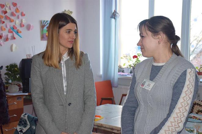 Візит до центру соціально-психологічної реабілітації дітей та молоді з функціональними обмеженнями «Обрій» в Вапнярці
