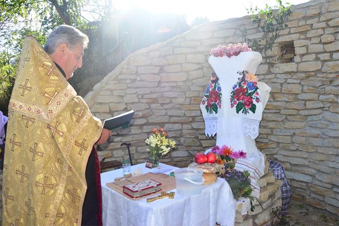 Подячний молебен у день вшанування Покрови Пресвятої Богородиці у Томашполі