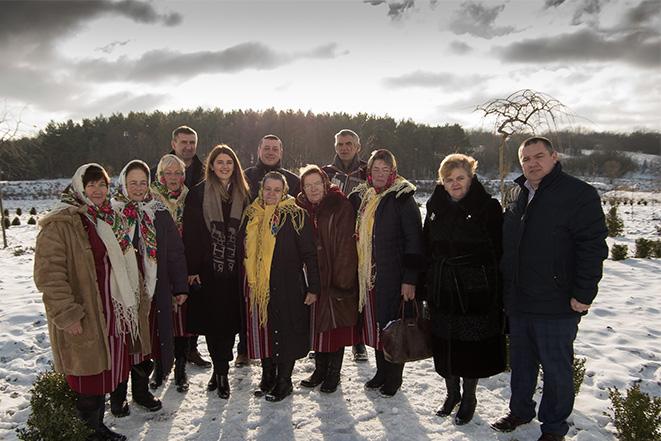 Відкриття двох нових проектів у Михайлівці Тульчинського району