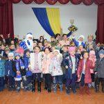 Новорічне свято для діток у с. Рівне
