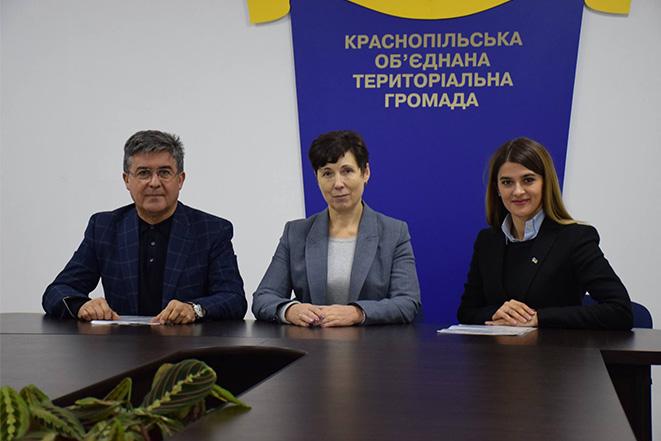 Перша річниця Краснопільської об'єднаної громади під головуванням Катерини Романенко