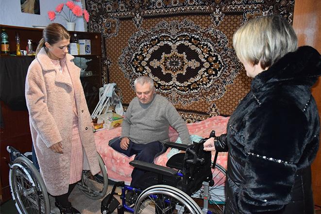 Інвалідний візок для родини Кудельських з Обухова