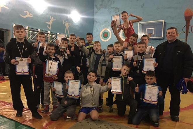 Турнір з вільної боротьби у Кирнасівці