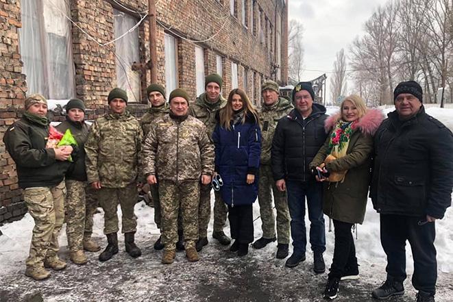 Cвяткові вихідні на Луганщині разом з військовими Гайсинського гарнізону