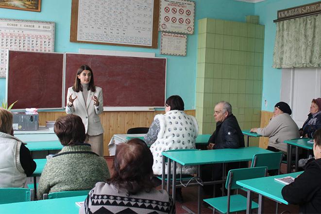 Візит у Мазурівську загальноосвітню школу І—ІІІ ступенів