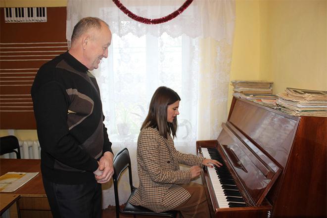 Зустріч з колективом Чернівецької музичної школи