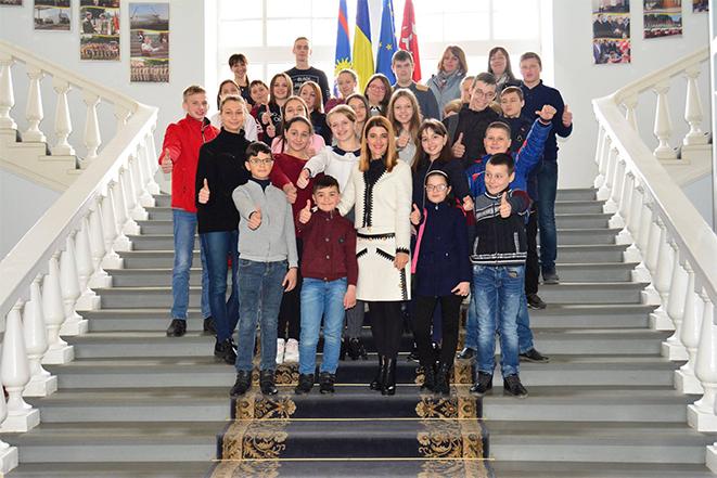 Зустріч активних школярів у Вінниці