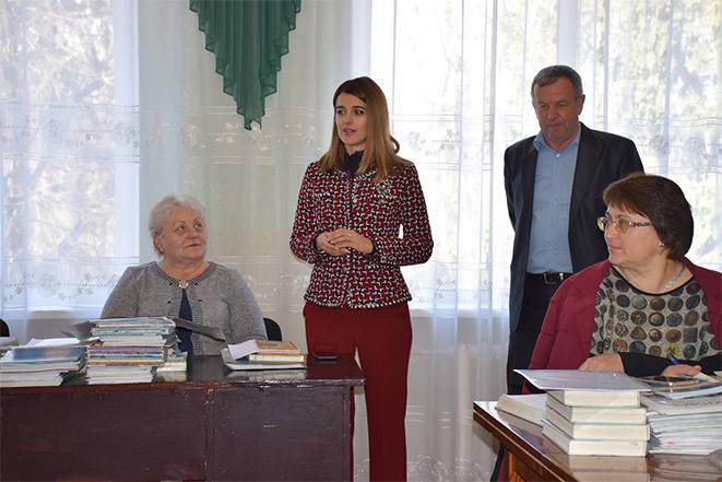 Зустріч з педагогами Новоободівської школи