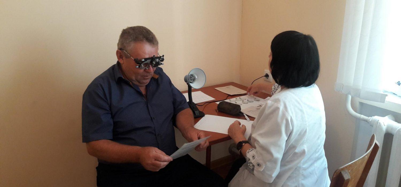 Прийом лікарів в селах на Вінниччині в рамкахсоціальної ініціативи «Лікар у село»