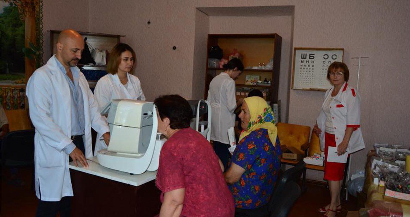 Триває соціальна ініціатива Лариси Білозір «Лікар у село»
