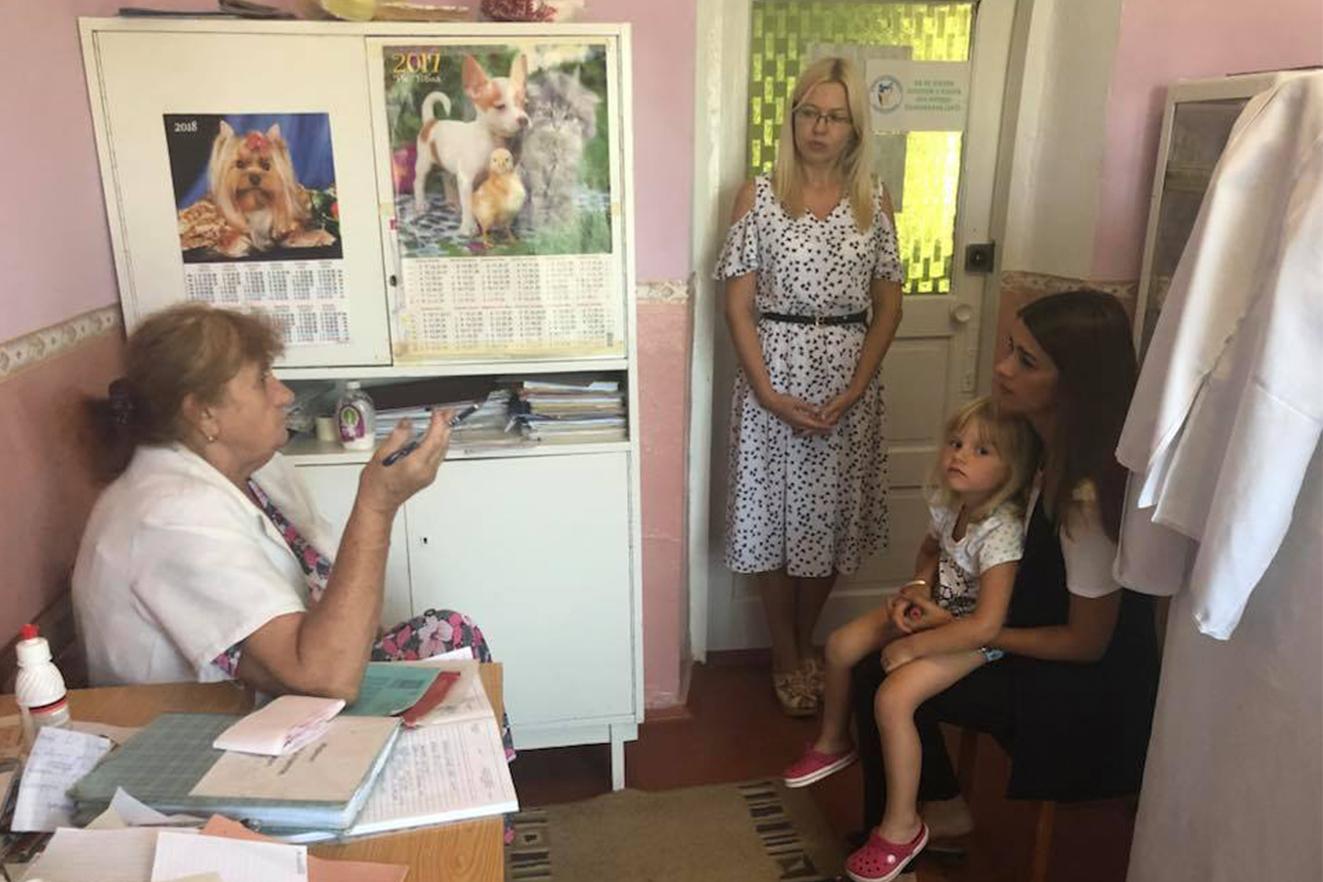 """""""Лікар у село"""" - Сільниця, Деребчин та Моївка."""
