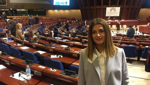 Лариса Білозір отримала диплом від Генсека Ради Європи на Всесвітньому форумі за демократію