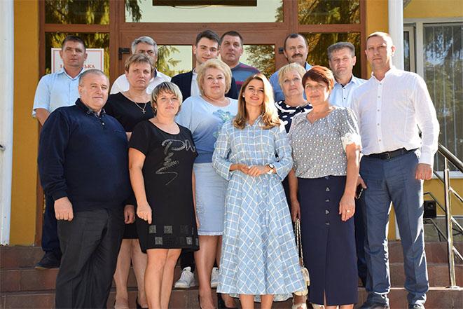 Поїздка з навчальним візитом представників територіальних громад Вінничини