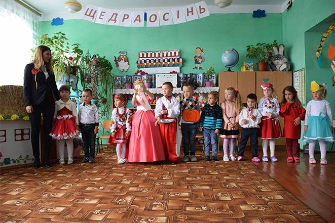 Покращення умов дошкілля в українському селі