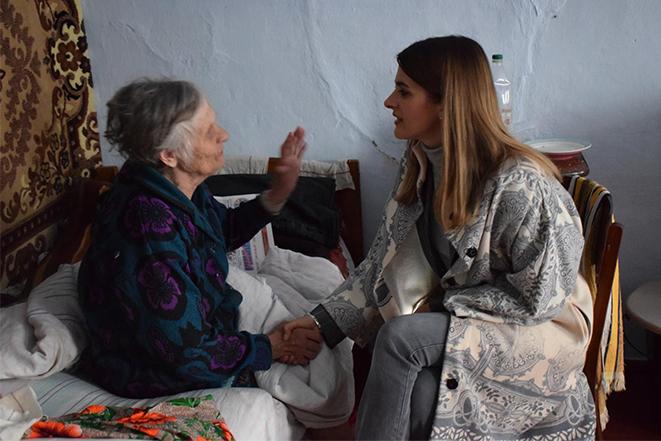 Візит до стаціонарного відділення постійного проживання одиноких громадян у с. Тиманівка