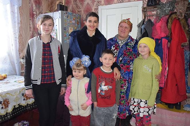 Зустріч з родиною Андрусенко з Кинашева