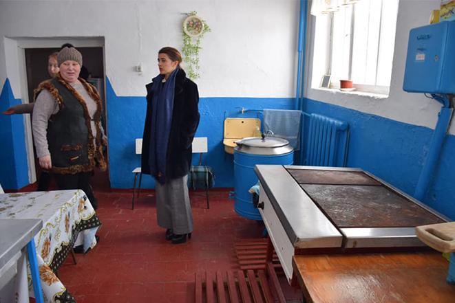 Нова промислова електроплита для потреб Вапнярківської загальноосвітньої школи