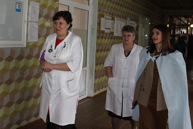Візит до Чернівецької центральної районної лікарні