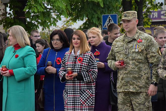 Акція «Перша хвилина миру» у Шаргороді