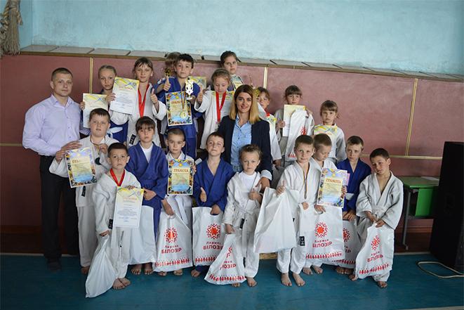 Відкрита першість з дзюдо серед юнаків та дівчат у Мурафі