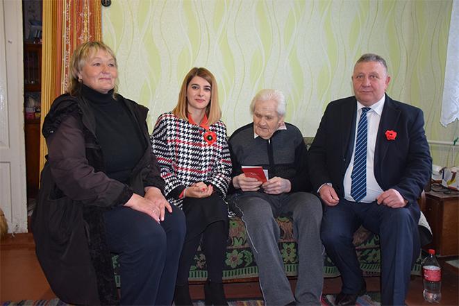 Візит до ветерана Другої світової війни - Тимофія Онисимовича Дімітрова