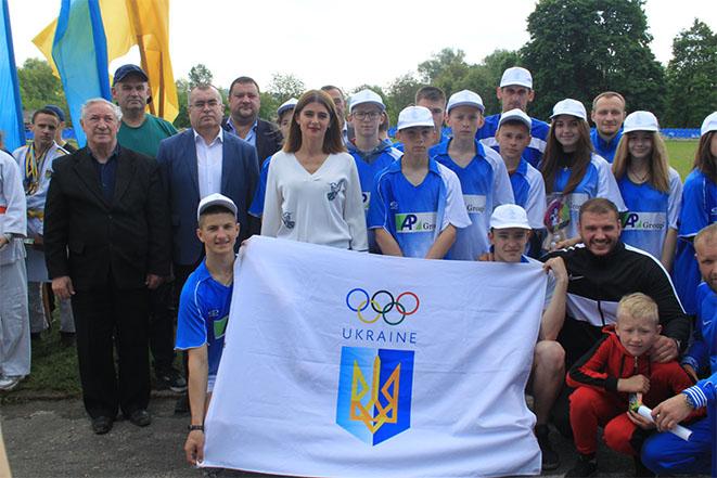 """Легкоатлетичний пробіг в """"Олімпійський день"""" на Шаргородщині"""