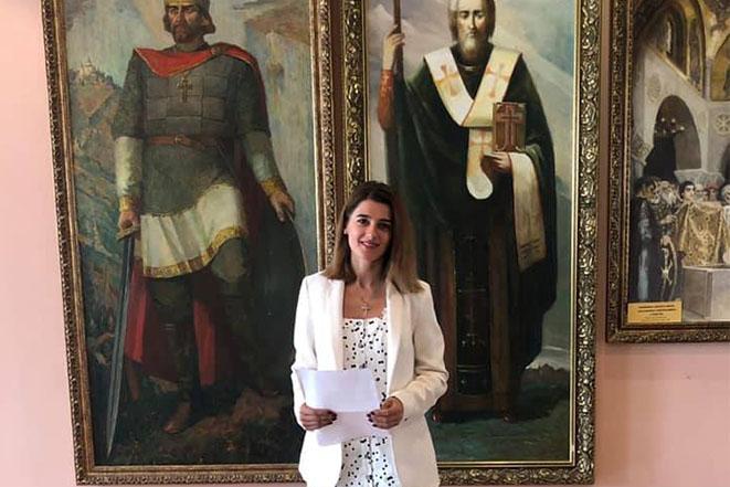 Реєстрація Лариси Білозір кандидатом у народні депутати по виборчому окрузі №15