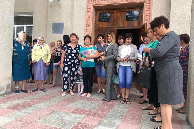 Зустріч з мешканцями Шаргородщини - жителями Пеньківки, Юхимівки, Михайлівки, Покутино