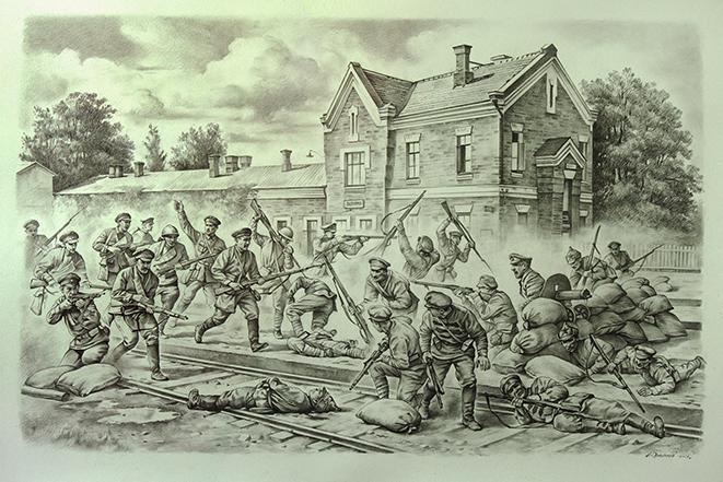 Заходи з нагоди 100-річчя з моменту бою за Вапнярку