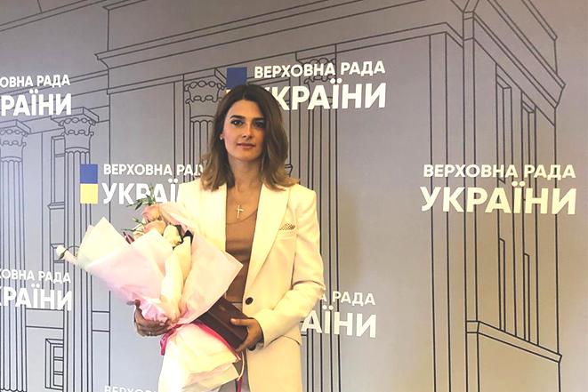 Лариса Білозір - Народний депутат України IX скликання