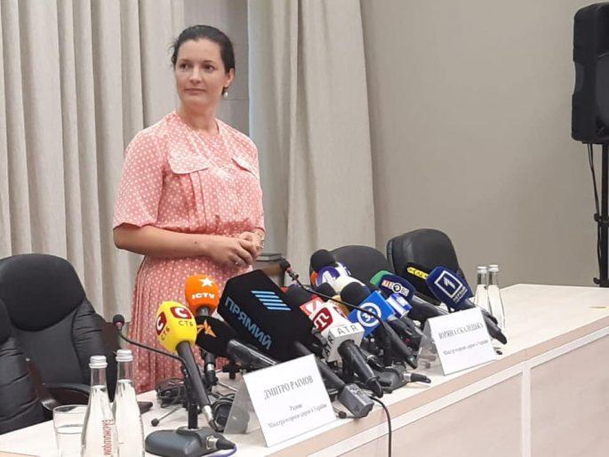 Почала комунікацію з новим міністром МОЗ Зоряною Скалецькою.