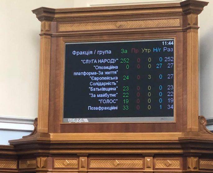 Я проголосувала за принципове для мене питання - зняття депутатської недоторканності
