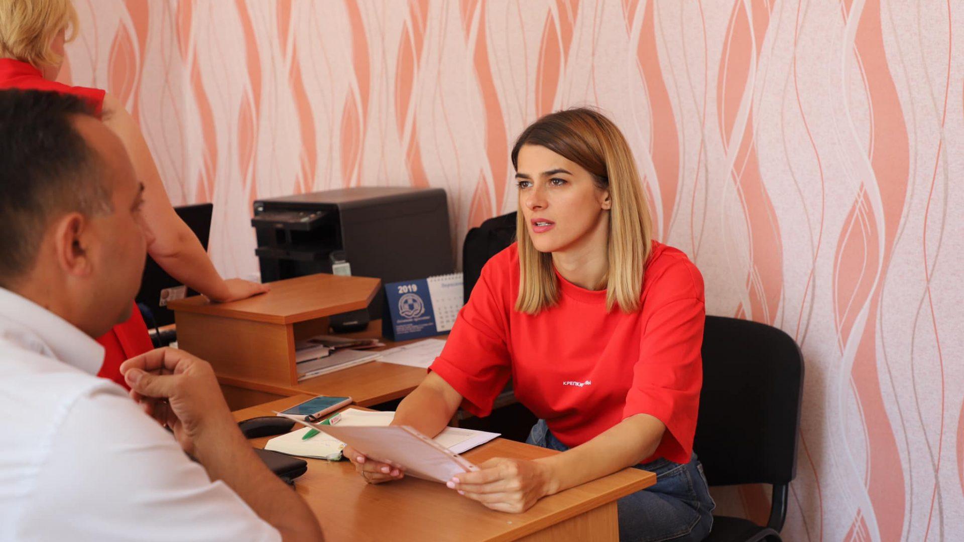 Провела особистий прийом в Томашполі