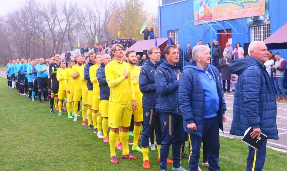 Шаргород минулого тижня радо вітав легенд національної збірної футболу!