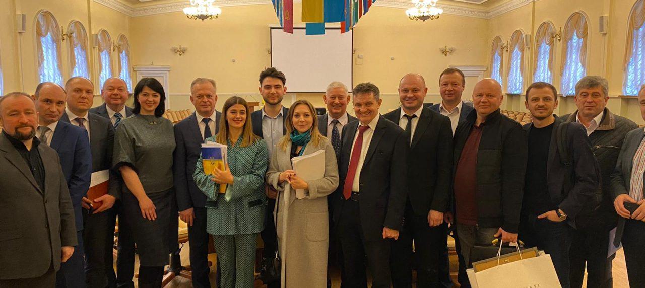 Засідання робочої наради в Мінрегіоні на тему перспективного плану формування територій громад Вінницької області.