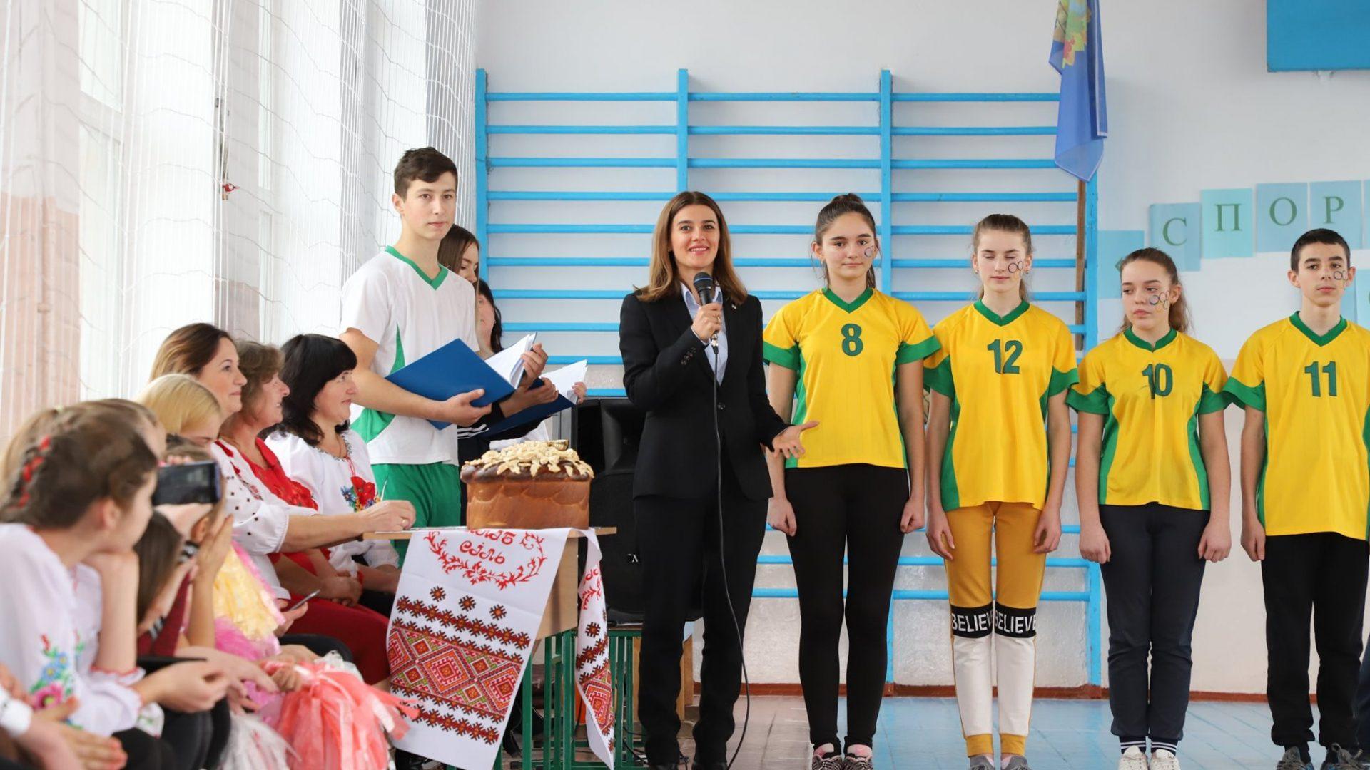 У Клебані на Тульчинщині ми відкрили черговий проєкт обласного конкурсу розвитку тергоромад