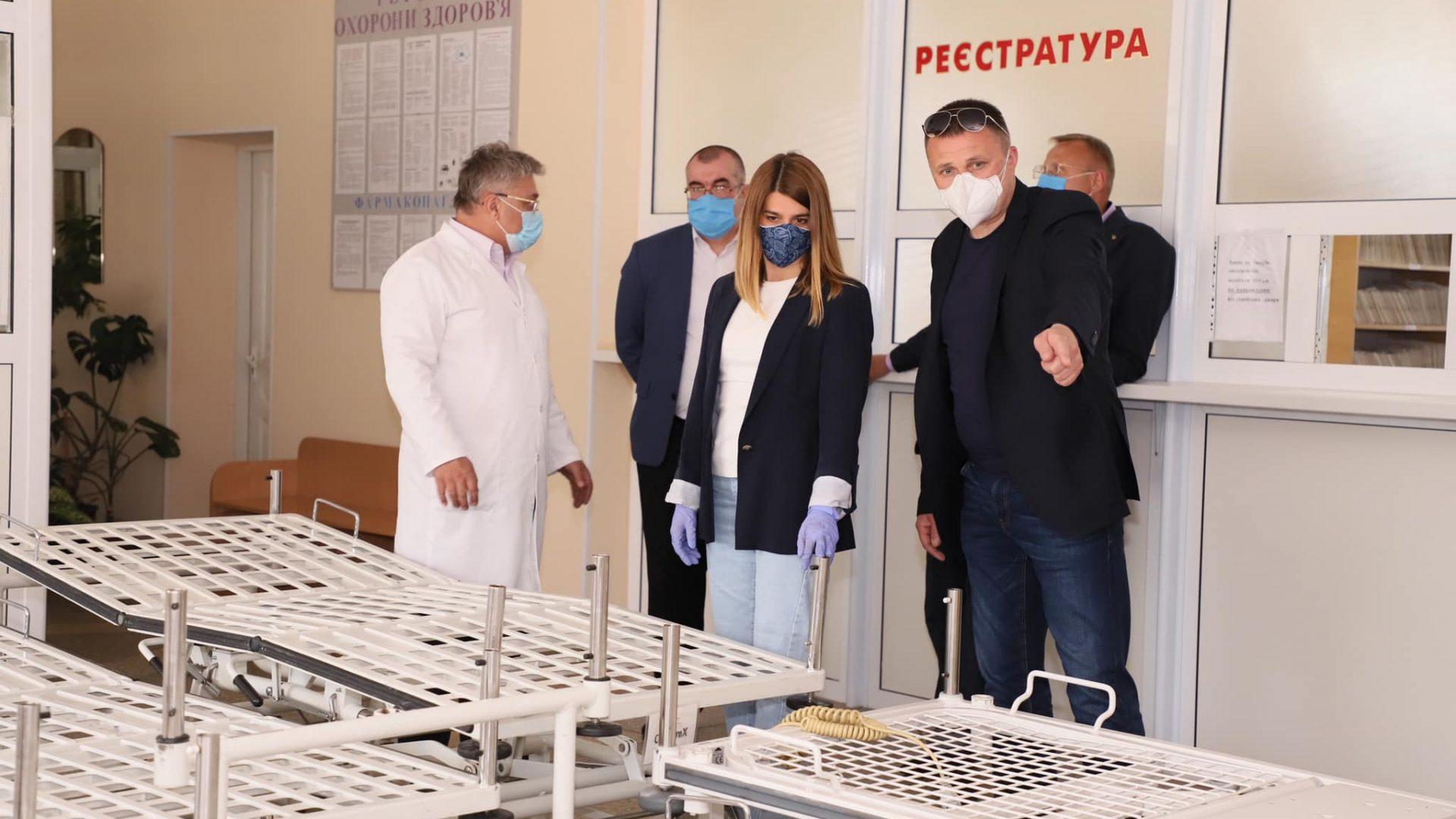 Передали допомогу від міжнародних партнерів для Шаргородської ЦРЛ.