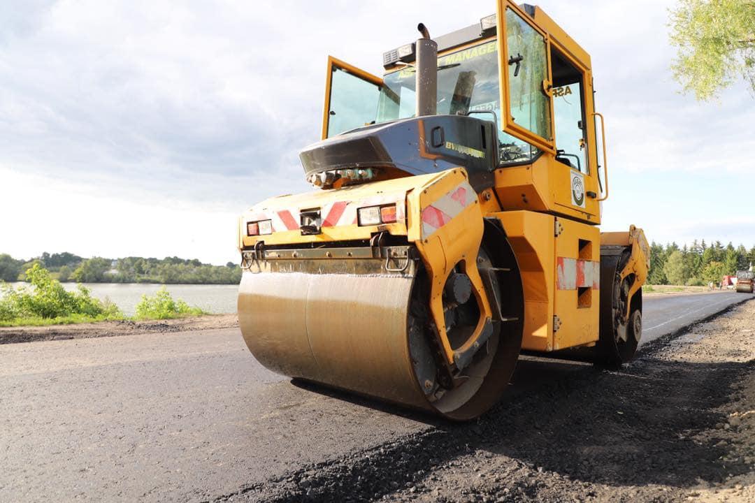 Інформую про заплановане цьогоріч оновлення доріг на нашому окрузі.
