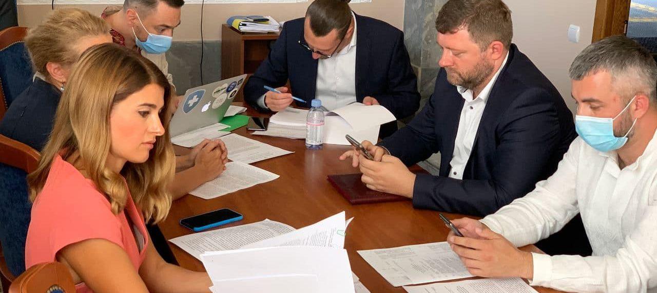 Спільне засідання одразу трьох підкомітетів місцевого самоврядування, підкомітету з питань адмінтерустрою та адмінпослуг.